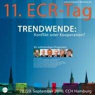 Programm des 11. ECR-Tag als PDF - Profi SGL