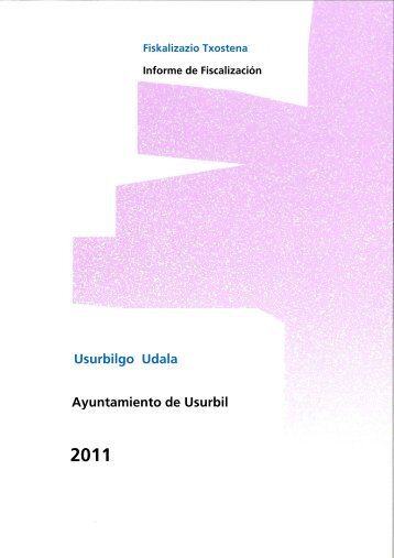 Usurbilgo Udala Ayuntamiento de Usurbil - Tribunal Vasco de ...