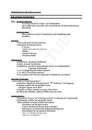 kraniosynostosen - ws 02/03 - progenie.de