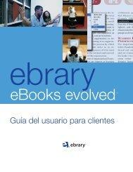 Guía del usuario para clientes - Ebrary
