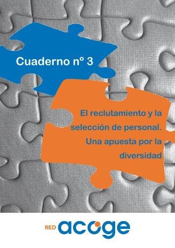 Cuaderno nº 3 - El reclutamiento y la selección de ... - red acoge