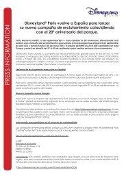 Disneyland® Paris vuelve a España para lanzar su nueva campaña ...