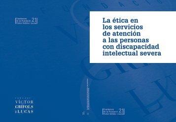 La ética en los servicios de atención a las personas con ...