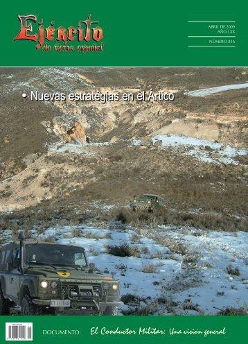 revista ejército nº 816 abril 2009 - Portal de Cultura de Defensa ...