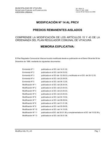 documentos - Municipalidad de Vitacura