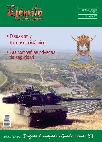 REVISTA EJERCITO Nº 777 DICIEMBRE 2005 - Portal de Cultura ...