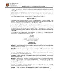 Código Civil para el Estado Libre y Soberano de Tlaxcala