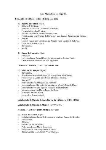Los Fajardo - Documento sin título