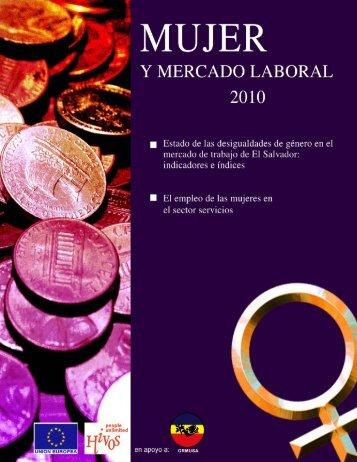 Mujer y Mercado Laboral 2010 ORMUSA