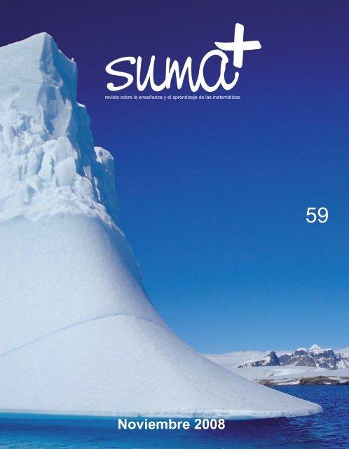 Revista completa SUMA Revistas de matemáticas