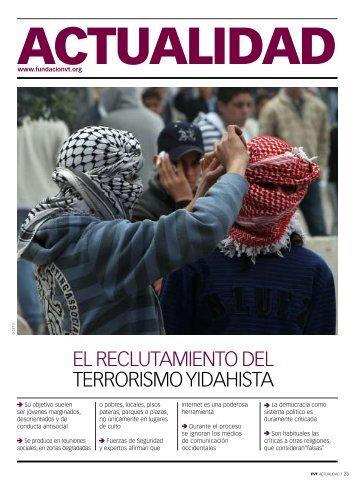 EL RECLUTAMIENTO DEL TERRORISMO YIDAHISTA