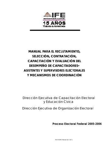Creacion Del Manual De Reclutamiento Seleccion Contratacion E