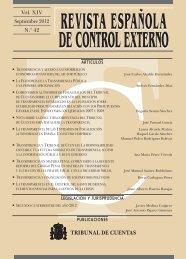 Revista Española de Control Externo, Nº 42. Monográfico sobre ...