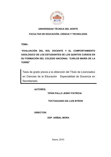 FECYT 851 TESIS.pdf - Repositorio UTN