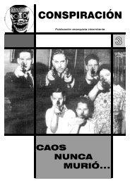 CONSPIRACIÓN - Non Fides