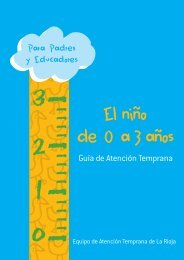 Guía de 0 a 3 años - Orientación Educativa en Aragón