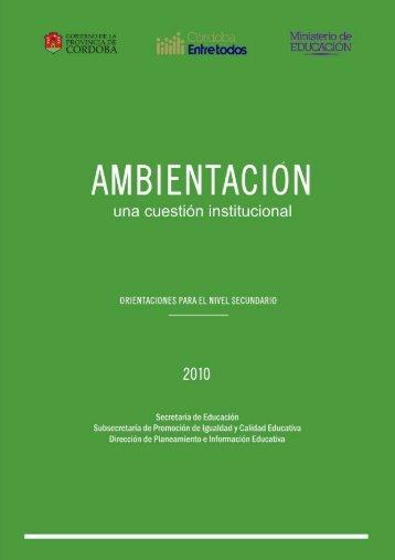 Nivel Secundario - Igualdadycalidadcba.gov.ar
