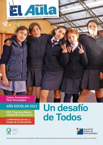 revista el aula pública, n° 4. - Asociación Chilena de Municipalidades