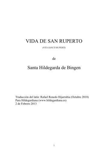 Libro en PDF - Santa Hildegarda de Bingen. Presentación