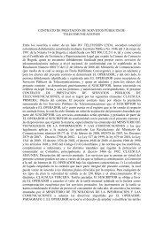 CONTRATO DE PRESTACIÓN DE SERVICIOS PÚBLICOS DE ...