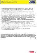 fiamma.com Montage- und Gebrauchsanleitung ... - holidayfritid - Page 5