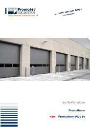 Iso-Sektionaltore - Promotec Industrietore