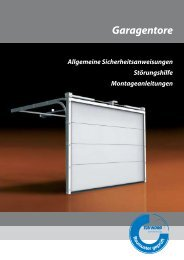 Garagentore - Promotec Industrietore