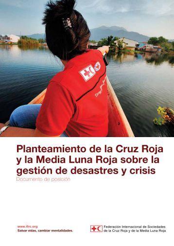 Planteamiento de la Cruz Roja y la Media Luna Roja sobre la ...