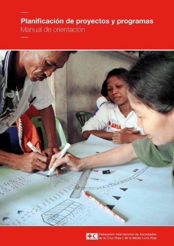 Planificación de proyectos y programas Manual de orientación