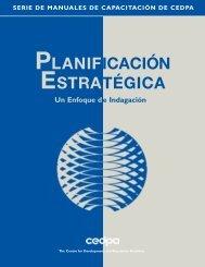Planificación Estratégica: Un enfoque de indagación - cedpa
