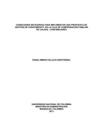 PLANTEAMIENTO DEL PROBLEMA - Repositorio Institucional UN ...