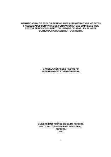 TRABAJO DE GRADO FINAL - Universidad Tecnológica de Pereira