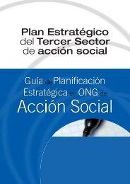 Guía de Planificación Estratégica en ONG de Acción Social