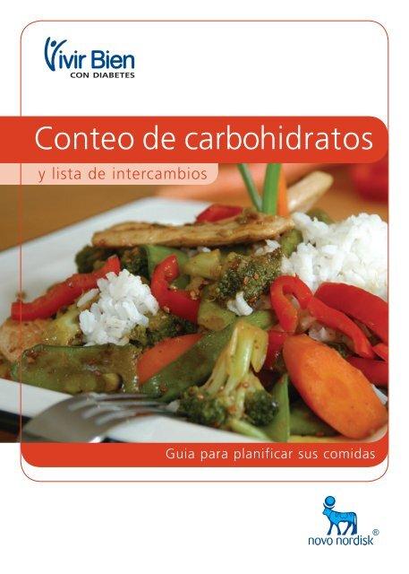 diabetes y carbohidratos al día por 170