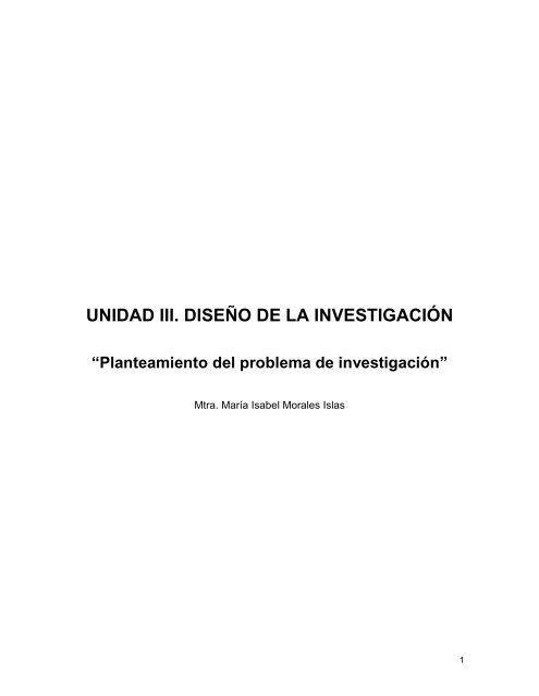 Planteamiento del problema de investigacion.pdf - Universidad ...