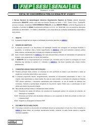 612-11 CP-REALIZAÇÃO DE PROJETO PLANIMÉTRICO E ... - Fiep