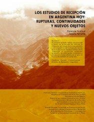 Los estudios de recepción en Argentina hoy: rupturas, continuidades y