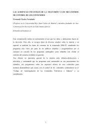 LAS AUDIENCIAS INFANTILES DE LA TELEVISIÓN Y LOS ...