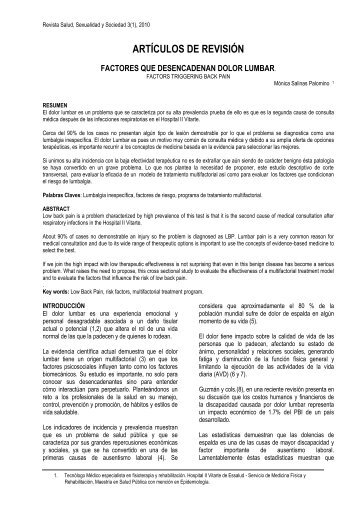 ARTÍCULOS DE REVISIÓN - Inppares