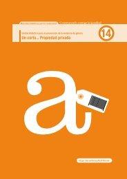 Un corto... Propiedad privada - Instituto Asturiano de la Mujer