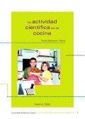 Nº 12. La actividad científica en la cocina - Instituto de la Mujer - Page 2