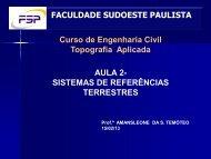 AULA TOPO 2 - Engenharia Civil FSP