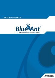 funktionen - Blue Ant