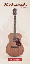 Catalogo Richwood Guitars