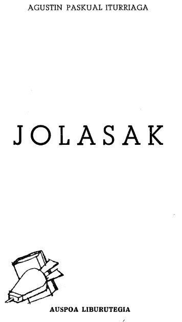 Jolasak - Euskaltzaindia