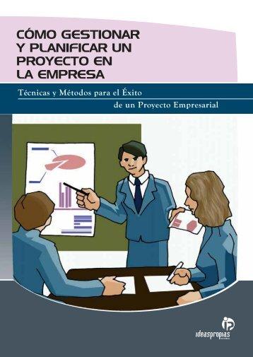 cómo gestionar y planificar un proyecto en la empresa