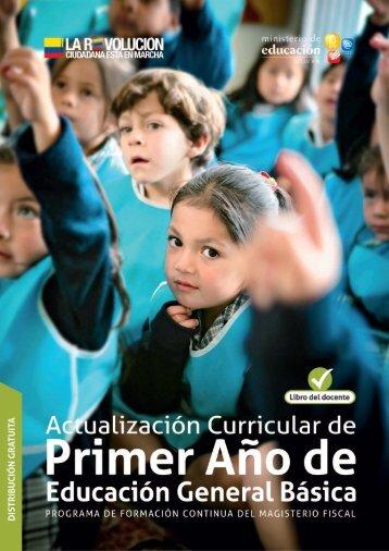 Actualización curricular - Ministerio de Educación