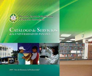 Catálogo de Servicios de la Universidad de Panamá