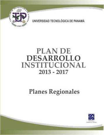 Planes Regionales - Universidad Tecnológica de Panamá
