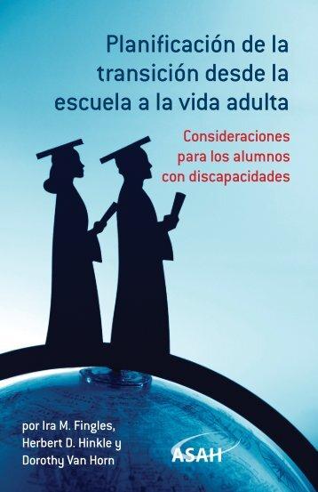 Planificación de la transición desde la escuela a la vida adulta - ASAH